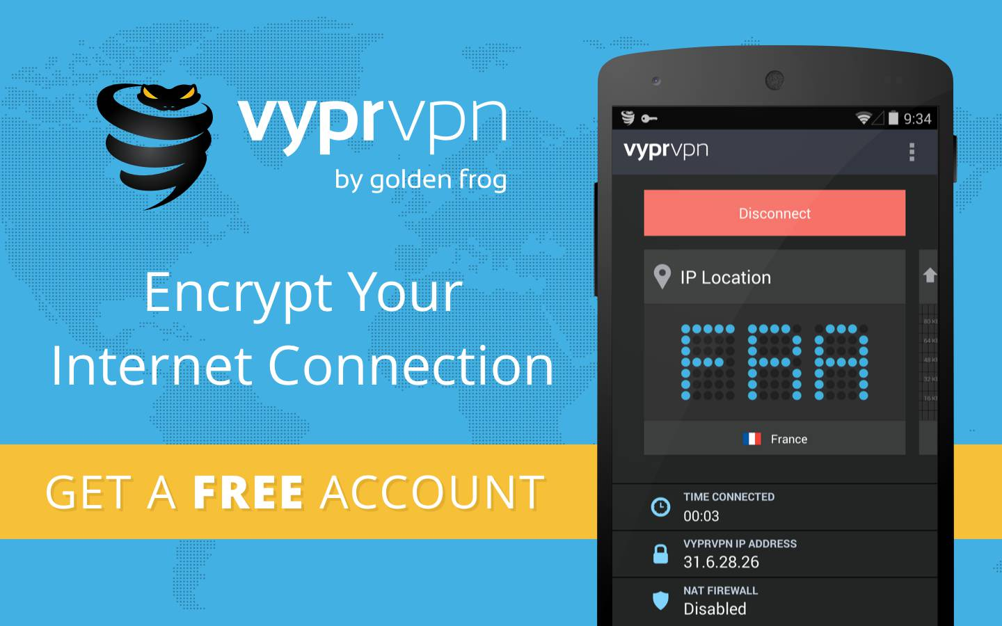 Android Device to a VPN With VyprVPN