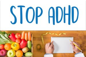 Stop Adhd Concept